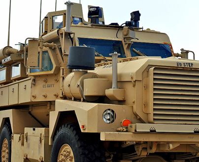 Military Vehicle Equipment